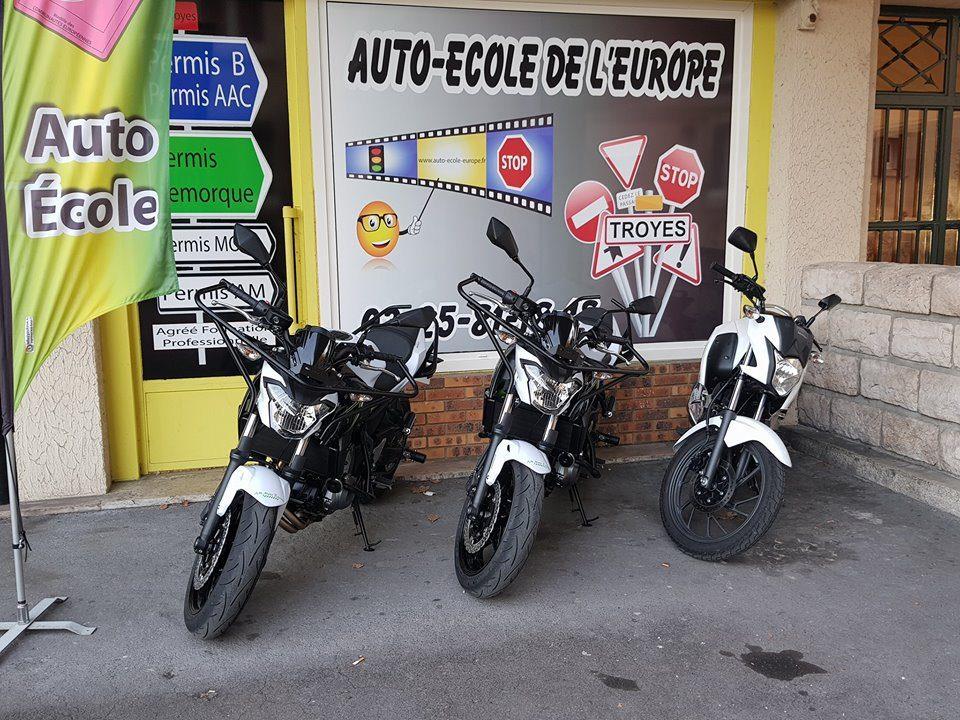 moto permis A1 et A2